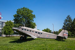 Old plane ju b2 Royalty Free Stock Image