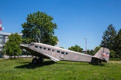 Old plane ju b2 Royalty Free Stock Image
