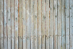 Old plank fence. With rusted nails Royalty Free Stock Photo