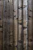 Old plank wooden background Royalty Free Stock Photography