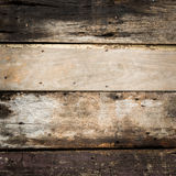 Old plank wooden wall Stock Photography