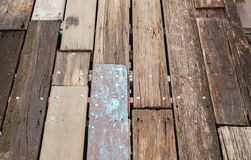 Old plank wooden wall Royalty Free Stock Image