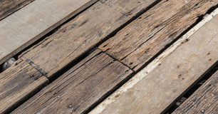 Old plank wooden wall Stock Image