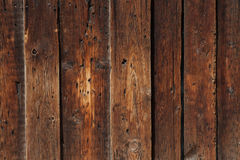 Old planks. Old brown wooden planks background Royalty Free Stock Photos