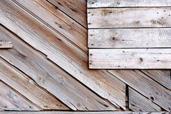 Old planks with copyspace Stock Images