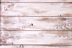 Old planks painted white Royalty Free Stock Photos