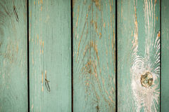 The old planks with peeling paint royalty free stock photo