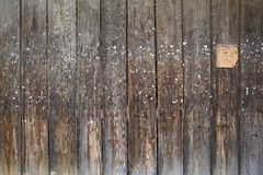 Old planks wall, Royalty Free Stock Image