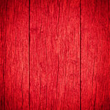 Old planks wooden red background Stock Image