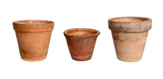 Old plant pot Royalty Free Stock Image