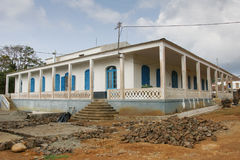 Old plantation, Sao Tome and Principe, Africa Royalty Free Stock Images