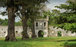 Old plantation, Sao Tome and Principe, Africa Stock Image