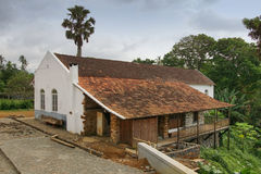 Old plantation, Sao Tome and Principe, Africa Royalty Free Stock Photos