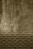 Old plaster and bricks Royalty Free Stock Photo