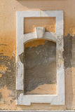Old plaster and niche pledged window Stock Photography