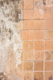 Old plaster and tiles Royalty Free Stock Photography