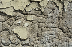 Old plaster on the wall Royalty Free Stock Photos