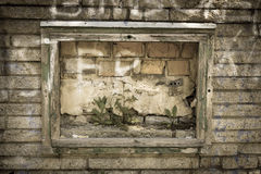 Old plaster walls frame Stock Photos