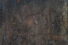 Old plastered and painted wall Royalty Free Stock Images