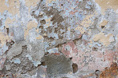Old plastered wall abstract Stock Image