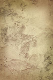 Old plastered wall darkened Royalty Free Stock Photos