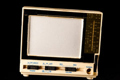 Old Plastic Televison. Classic Vintage Retro Style Old Plastic Televison Stock Images