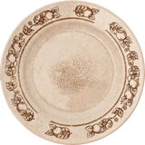 Old plate with cracks Royalty Free Stock Images