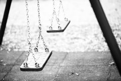 Old playground Royalty Free Stock Photography
