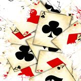 Old playing card Stock Image