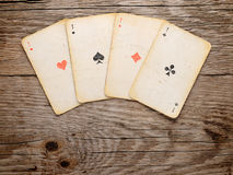 Old playing cards Royalty Free Stock Image
