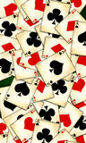 Old playing cards Royalty Free Stock Photography