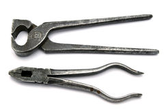 Old Pliers Royalty Free Stock Photos