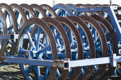 Old ploughing device royalty free stock images