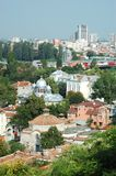 Old Plovdiv cityscape ,Bulgaria,Balkans Royalty Free Stock Image