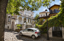 Old Plovdiv houses Royalty Free Stock Photos