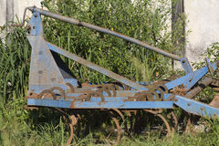 Old plow Stock Image