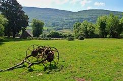 Old Plow. At Molly's Tearoom farm in Ireland Royalty Free Stock Photo