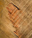 Old plywood board Stock Photography