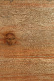 Old plywood board with knot background decorative  texture Royalty Free Stock Image
