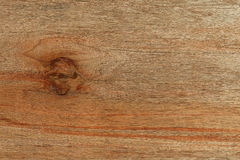 Old plywood board with knot background decorative  texture Royalty Free Stock Photo