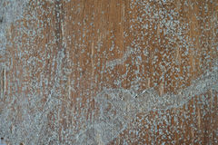 Old plywood. The old plywood with remnants of paint Royalty Free Stock Image
