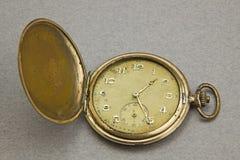 Old pocket clock Stock Images