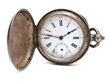 Old pocket clock Stock Photography