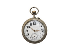 Old pocket clock Royalty Free Stock Images