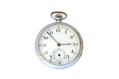 Old pocket watch. Old pocket watch on overwhite background Stock Images