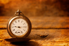 Old pocket watch Stock Photography