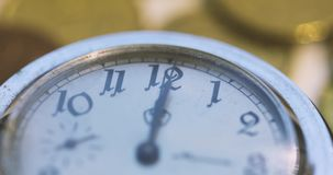 Old Pocket Watch Opening stock footage