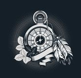 Old pocket watch Royalty Free Stock Image