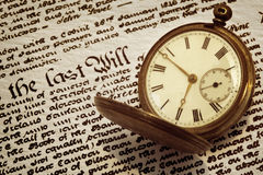 Old Pocket Watch and Will