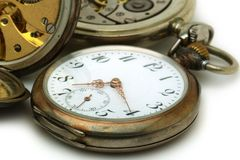 Old pocket watches Stock Image